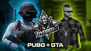PUBG MOBILE + GTA V RP WITH DEXTER | DYNAMO GAMING