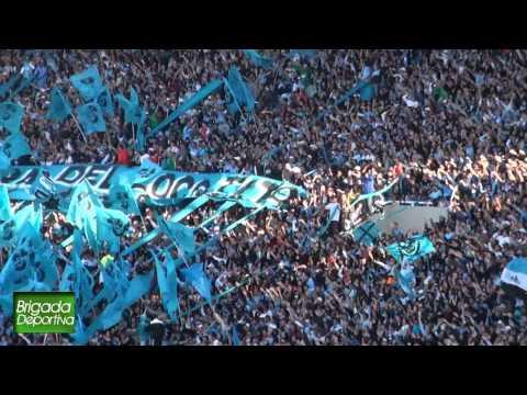 """""""Belgrano vs Talleres 2012 -- Duelo de hinchadas"""" Barra: Los Piratas Celestes de Alberdi • Club: Belgrano"""