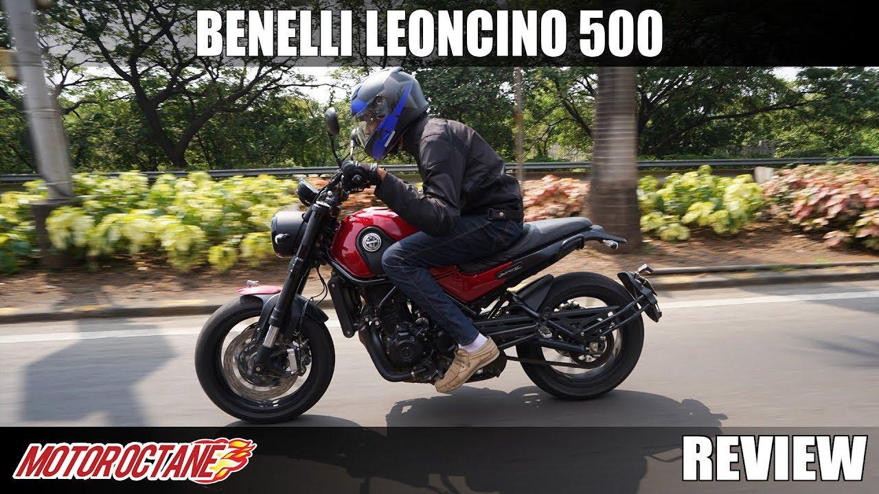 Motoroctane Youtube Video - Benelli Leoncino 500 Review | Hindi | MotorOctane