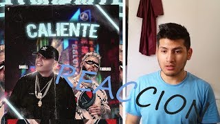DARELL, FARRUKO - CALIENTE (OFFICIAL VIDEO) - CALIENTE REACCION