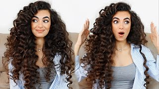 MEGA VOLUME HEATLESS CURLS!