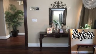 DIY Console Table Decoration | Entry Table