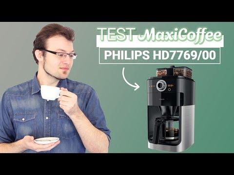 PHILIPS HD7769/00 avec broyeur | Cafetière filtre | Le Test MaxiCoffee