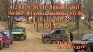 preview picture of video '1.Free Style Trial Lauf in Seltz Elsass Frankreich 2015 der 4x4 dreckspatze.de Ser-Clip 20'