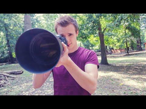 Fotografieren mit einem Teleobjektiv - Meine Erfahrungen und Tipps