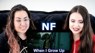 HONEST OPINION!! Two Sisters REACT To NF   When I Grow Up!!