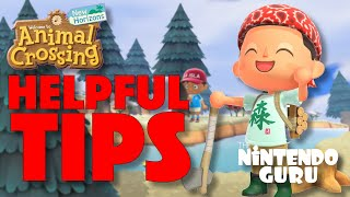 Helpful TIPS For Animal Crossing New Horizons | Nintendo Guru
