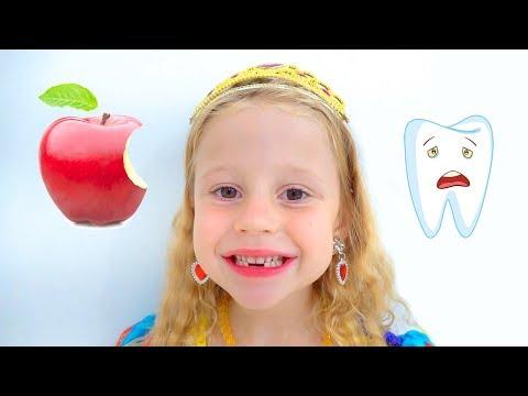 Настя и папа - серии про принцесс видео