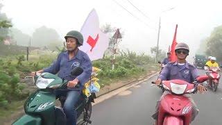 Đội xe ôm tự quản bảo đảm an ninh trật tự, sơ cứu người bị nạn ở Quảng Nam