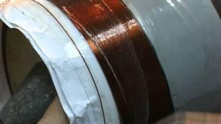 Confectionarea unei bobine de 4 inch
