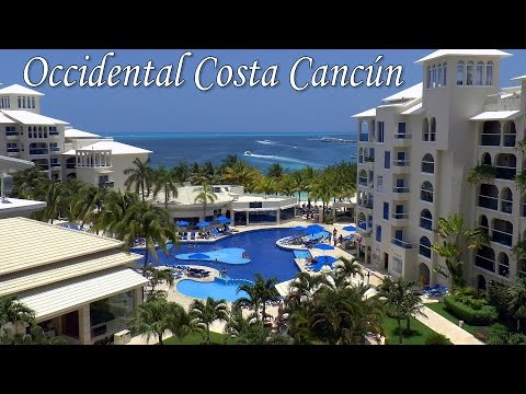 CANCUN │ MEXICO – Occidental Costa Cancún All-inclusive Resort. Most complete video review to date.