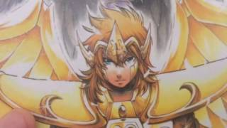 Gambar cover Top 12 des chevaliers d'or dans saint seiya The lost Canvas