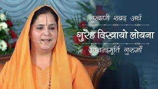 Meaning of Gurbani Shabad - Gureh Dikhayo Loyena | Anandmurti Gurumaa