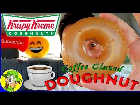 Krispy Kreme Doughnuts® | Coffee Glazed Doughnut | Food Review! ☕🍩