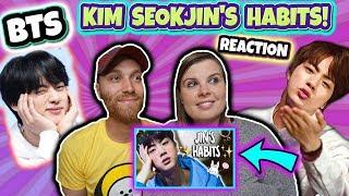 KIM SEOKJIN'S HABITS! Reaction