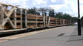 preview picture of video 'Freight at Walsall, on the 09/07/11'