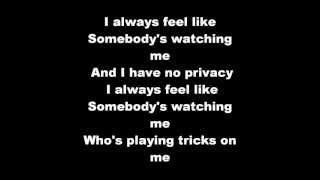 Rockwell - Somebody's Watching Me Lyrics
