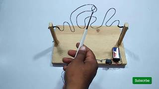 Awesome Buzz Wire Game For Kids Make Simple New Projects Exhibition