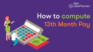 How to compute 13th month pay?