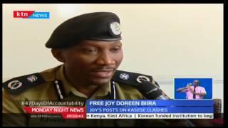 Monday Night News: KTN Business Anchor Joy Doreen Biira has been released by Uganda police,28/11/16