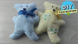 Teddybären für Babys nähen I DIY Eigen Kreationen
