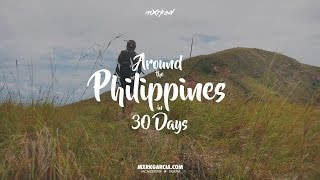 BACKPACKING IN THE PHILIPPINES FOR 30 Days! | #MXRKED