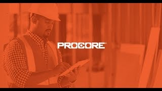 Procore Training: Schedules, Drawings, and Punchlists