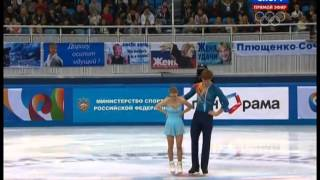 Evgenia TARASOVA Vladimir MOROZOV 2014 FS Russian Nationals