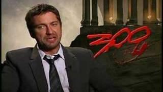 Actor Gerard Butler 300 Interview