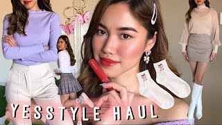 🌸 £200 Spring Yesstyle Try On Haul 🌸 Asian Fashion | Korean Beauty ♡