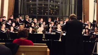 "2011 Concordia - Portland Choir Christmas Chorale ""Adam Lay YBounden"""