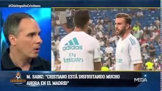 Manu Sainz: 'A un 99,9% Cristiano Ronaldo va a seguir en el Real Madrid'