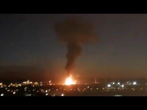 В Каталонии из-за взрыва на нефтехимическом заводе пострадали четыре человека