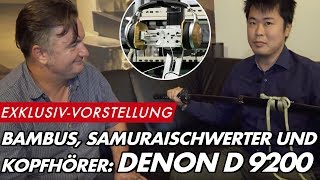 Weltexklusive Vorstellung des DENON AH-D 9200 Referenzkopfhörers | GROBI.TV