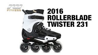 Видео обзор фрискейт роликов Rollerblade twister 231 2016 (англ.)