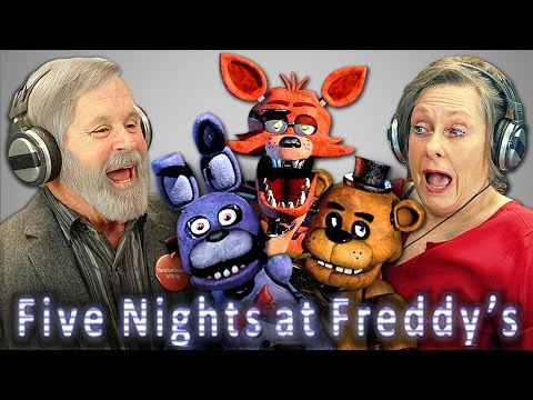 Old Folks Aren't Scared Of Five Nights At Freddy's