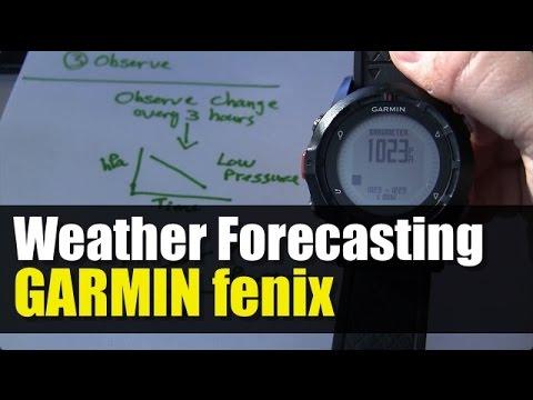 Garmin fenix - Weather Forecasting Using Barometer