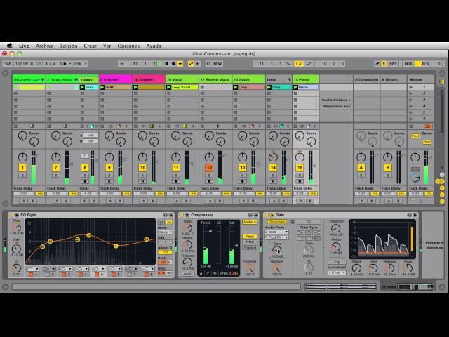 Técnicas de SideChain Gate & Reverb con Ableton live