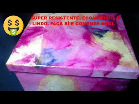 Decoupage com filtro colorido