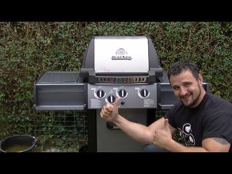 Broil King Monarch 340 Aufbau und Test  - Klaus grillt