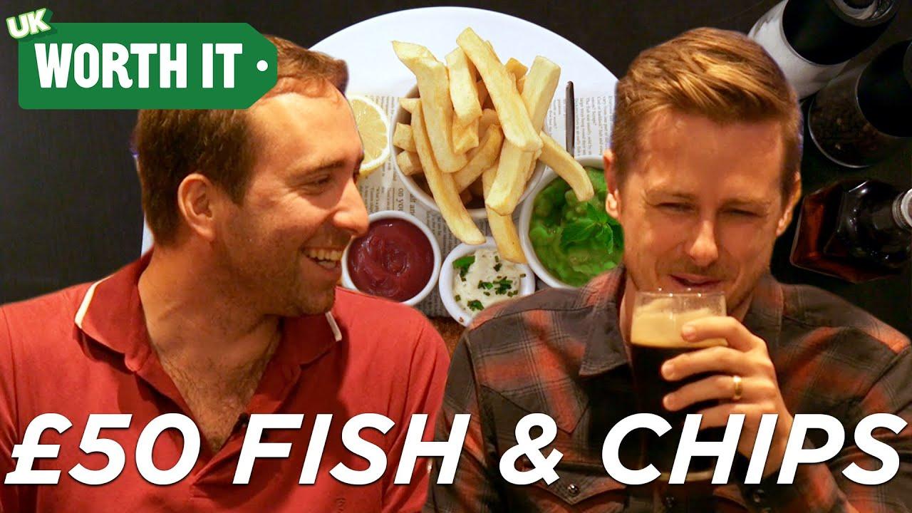 £4 Fish And Chips Vs. £50 Fish And Chips thumbnail
