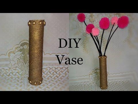 Easy Diy Flower Vase In Just 3 Steps