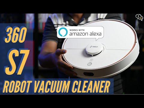 360 S7 Laser Navigation Robot Vacuum Cleaner