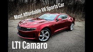 2020 Chevrolet Camaro LT1 - MOST Affordable NEW V8 Sports Car