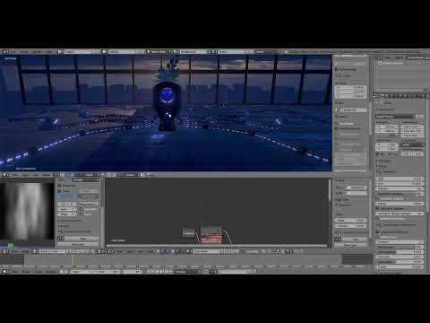 Blender 2.8 Eevee Animated Textures