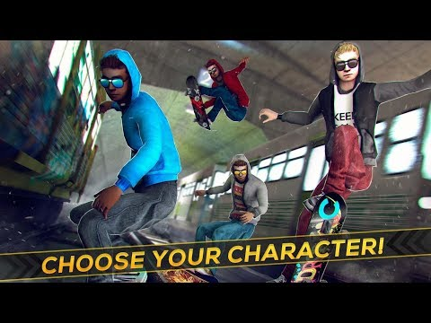 Game Android 2018 Subway Skateboard Ride Tricks