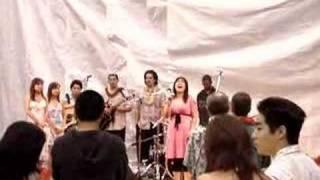 Maria Montero sings the National Anthem