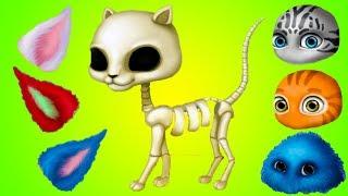ПРИЧЕСКА ЧЕЛЛЕНДЖ #3 День рожденье котиков - веселая игра про прикольных котят #ПУРУМЧАТА