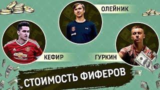 СКОЛЬКО СТОЯТ ИГРОКИ ФК «АМКАЛ» // Кефир, Гуркин, Олейник