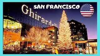 The Original Ghirardelli Ice Cream & Chocolate Shop at Ghirardelli Square, San Francisco